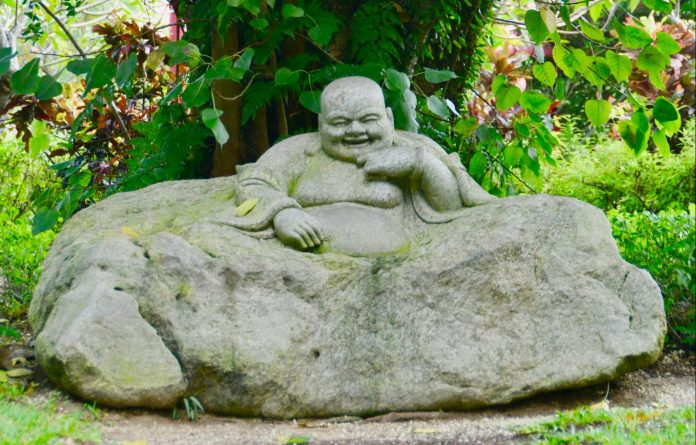 laughing buddha stress and humor